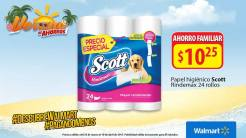 ofertas en papel higienico scott 24 rollos