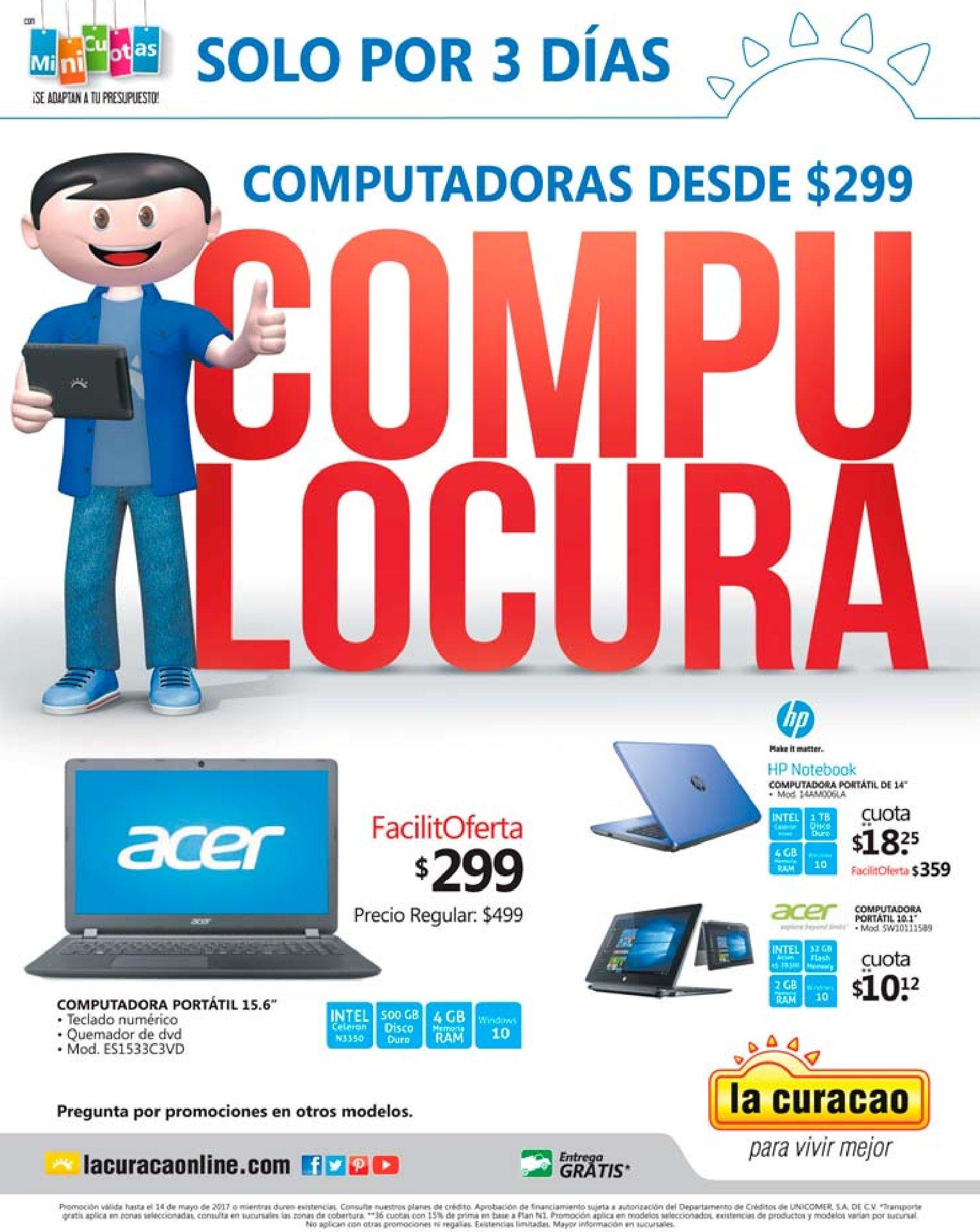 COMPU LOCURA ofertas en computadoras laptps y prtatiles
