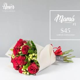 Docena de rosas para el dia de las madres