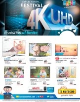 FESTIVAL de pantalla UHD 4k la curacao sv