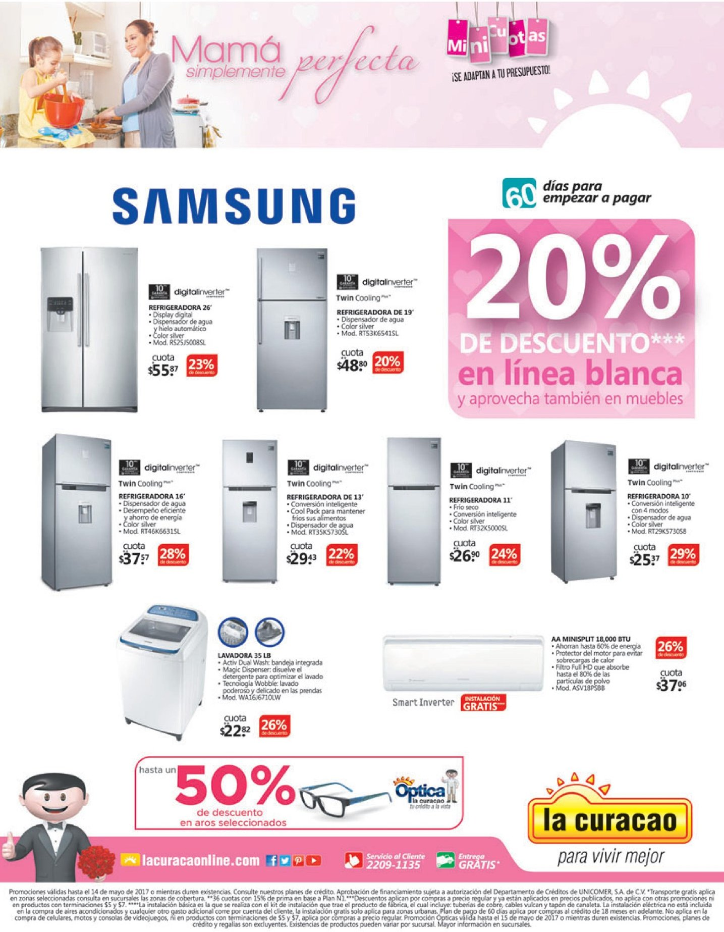 SAMSUNG appliance descuentos y ofertas la curacao