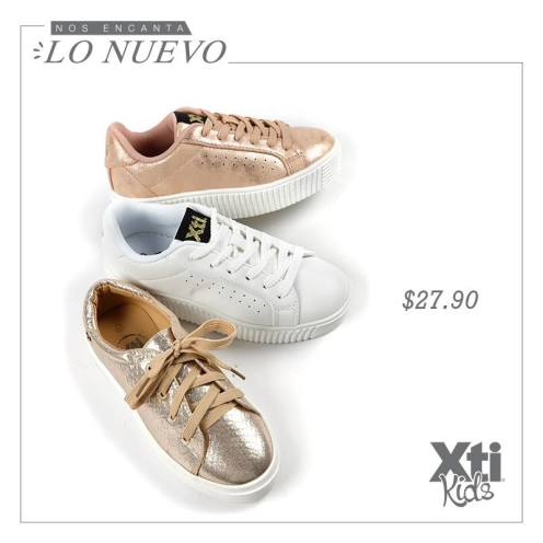 TENNIS SHOES metallic collection for xti kids