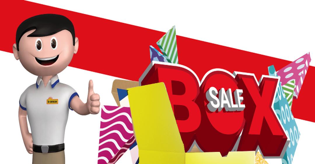 BOX SALE ofertas de fin de mes LA CURACAO (junio 2017)