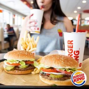 Burger king hamburguesas para el rey