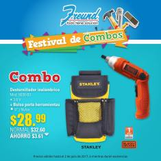 FREUND COMBO desatornillador inalambrico
