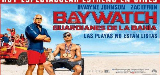 Las playas no estan lista con DWAYNE JOHNSON y ZAC EFRON