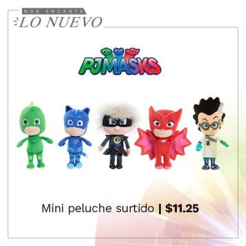 PELUCHES de la serie PJ MASK cartoon