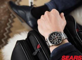 Papa puede lucir un nuevo reloj de sears