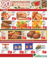 Pollo y carnes rescas en sper selectos - 14jun17