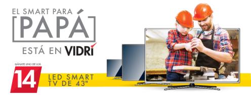el smart tv de papa esta en almacenes vidri sv junio 2017