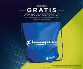 gratis mochila deportiva marca champion