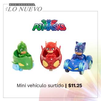 vehiculos GEECKO - ULULET - CATBOY Disney junior