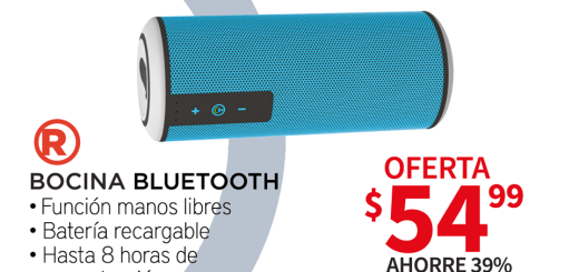 BOCINA bluetooth hasta 8 horas de reproduccion