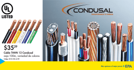CONDUSAL cables y materiales electricos LISTED UL