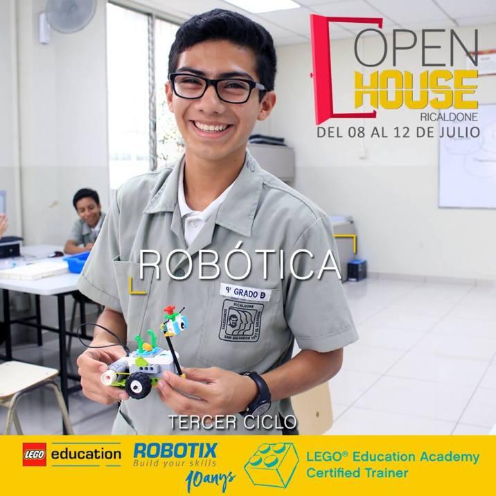 Escuela de ROBOTICA en el salvador - RICALDONE