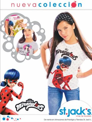 LADY miraculous cartton new collection st jacks