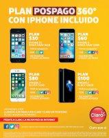 Planes pospago CLARO con iphone smart phones