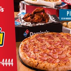 SV DOMINOS sports pack de pizza gigante
