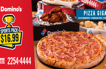 SV DOMINOS sports pack de pizza gigante