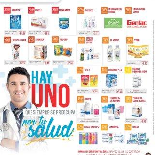 UNO OFERTAS en medicinas farmacias uno julio 2017