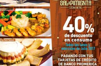 sal y pimienta Restaurante CAVA de VINOS y tiendas GOURMET descuento