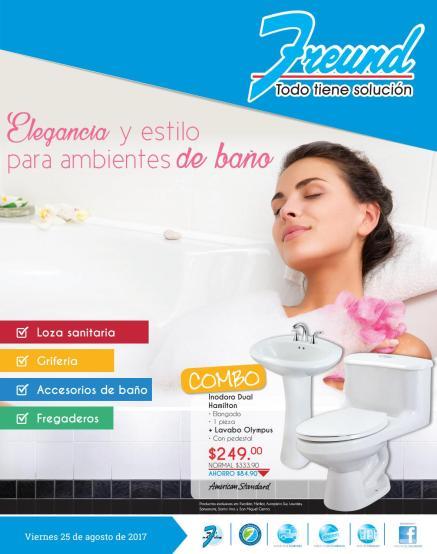 Cuadernillo de ofertas para decorar con elegancia tu baño