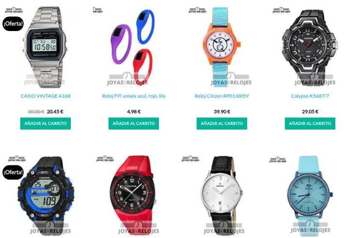 Las mejores ofertas en relojes baratos online