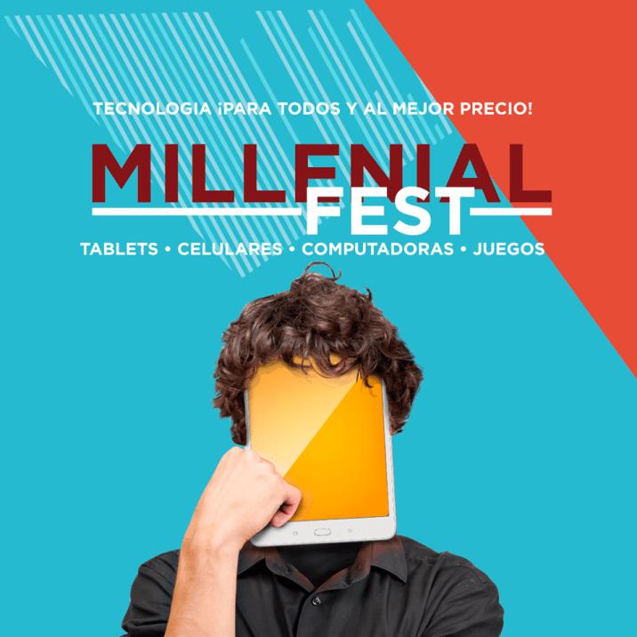MILLENIAL FEST ofertas tecnologicas en Radio SHack AGOSTO 2017