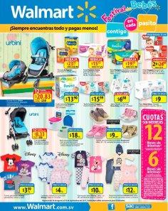 WALMART Productos y accesorios para bebes este finde