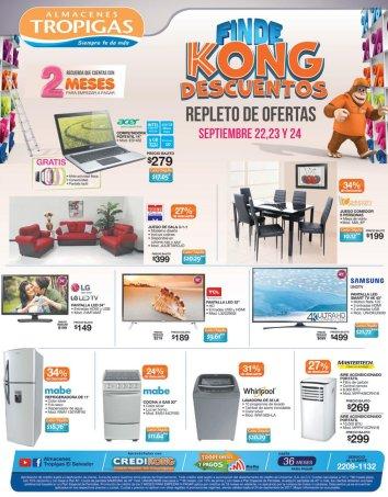 Fin de semana KONG repleto de ofertas - 22sep17