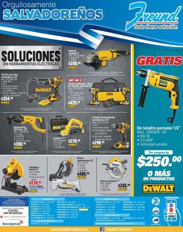 Las herramientas de todo trabajados salvadoreno