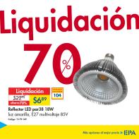 Liquidaciones en iluminacion via EPA el salvador