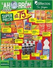 Los super precios de ahorro en super selectos - 01sep17