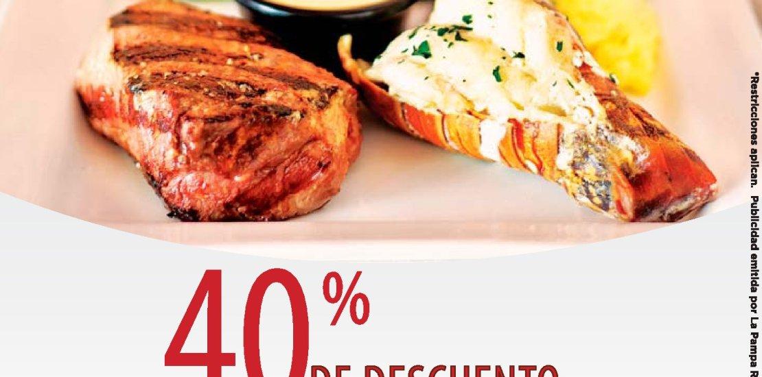 Martes de septiembre de 2017 40 off en restaurantes la PAMPA