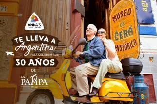 restaurante LA PAMPA el salvador te lleva a ARGENTINA por su aniversario
