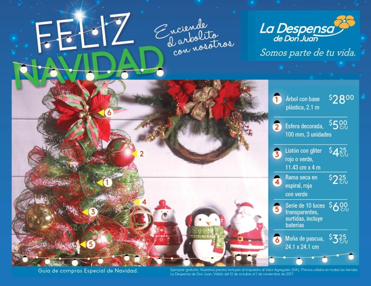 La Despensa de Don Juan primer catalogo NAVIDENO 2017