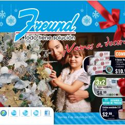 Ferreteria FREUND catalogo de decoraciones navideñas 2017