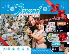 Ferreteria FREUND catalogo de decoraciones navideñas 2017