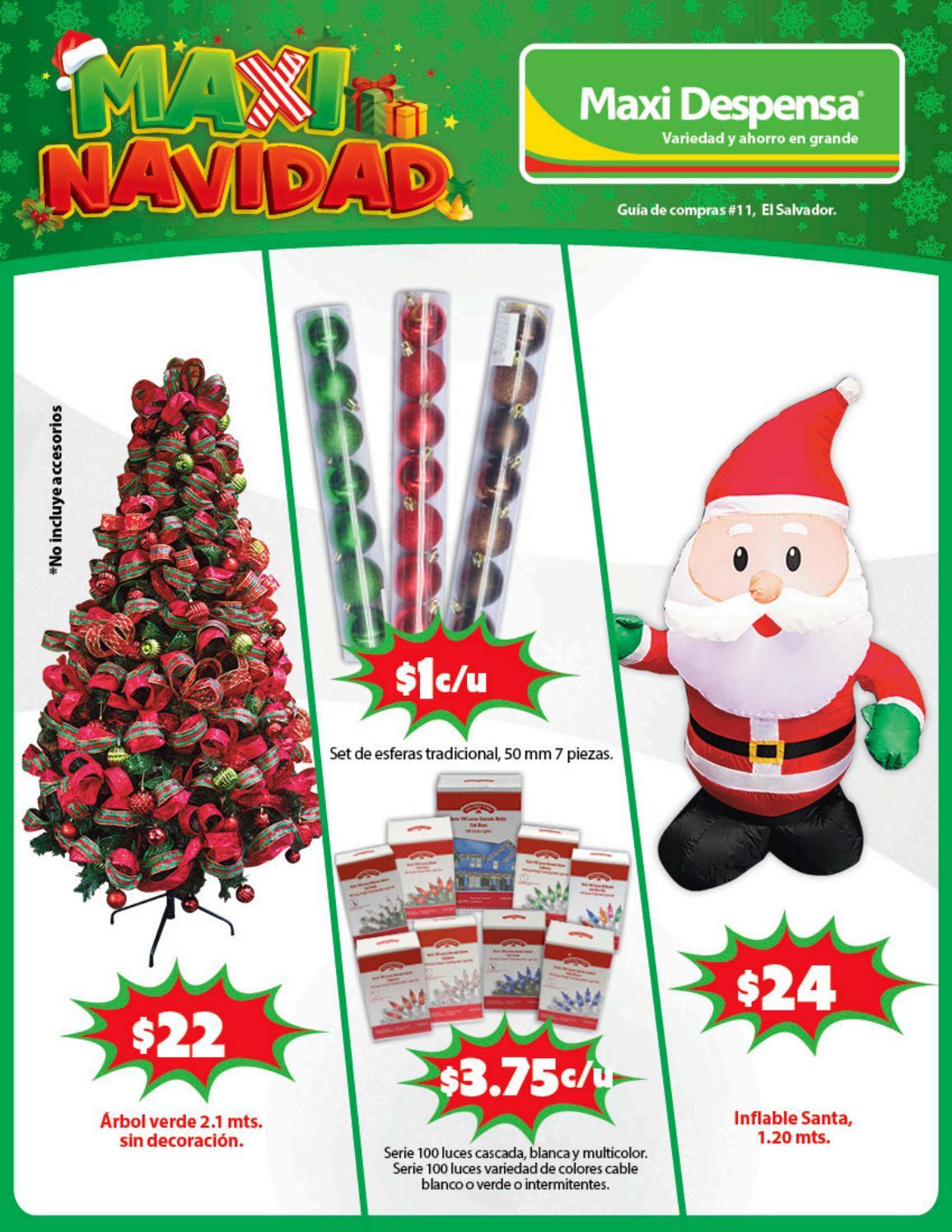 Maxi despensa el salvador catalogo de prodcutos navideños 2017