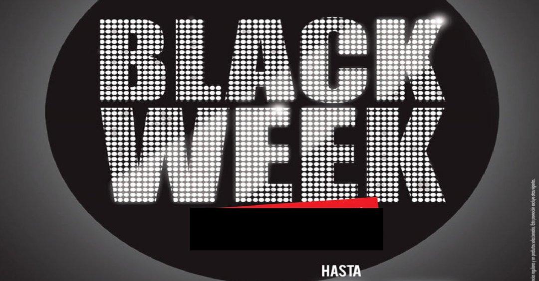 AHORA Lunes inician las Ofertas BLACK WEEK 2017 [Todos los Almacenes]