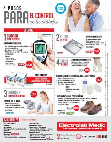 Equipo medico y cazaldo especial para personas diabeticas