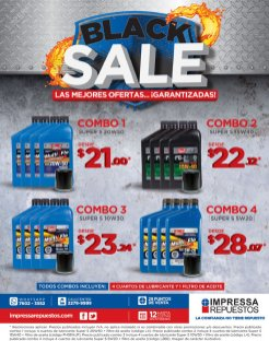 Impresa Repuestos BLACK friday sale en aditivos y lubricantes