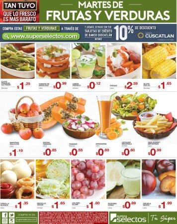 MARTES 14nov17 dia de ofertas en frutillas y verdurillas