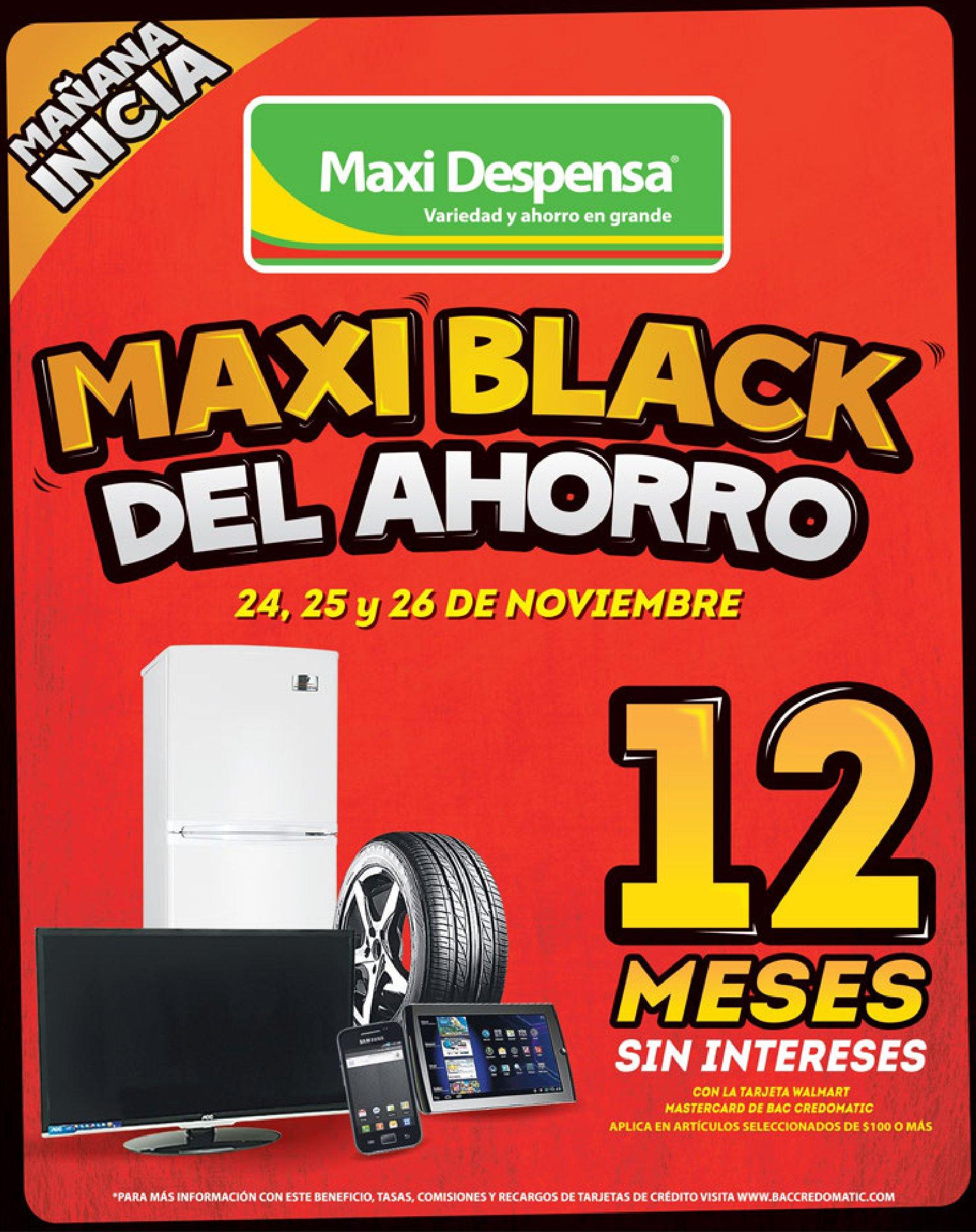 MAXK BLACK friday 2017 maxi despensa