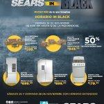 MUebles y LInea blanca de SEARS con ofertas blackfriday 2017