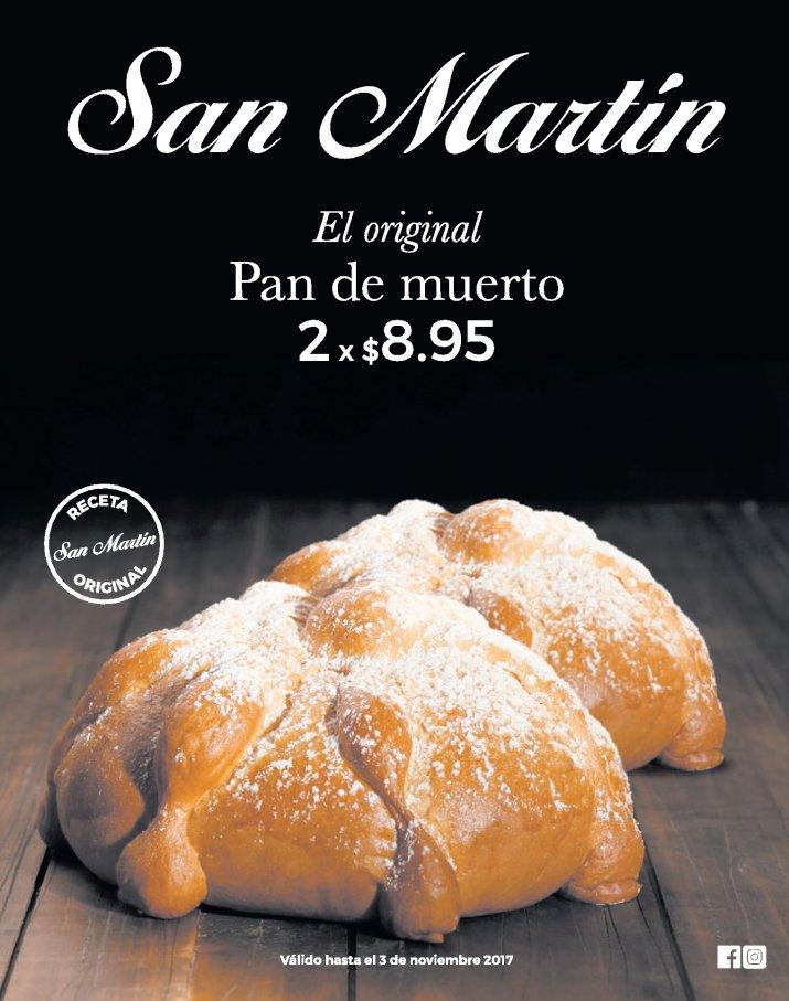 Panaderia SAN MARTIN receta orginal PAN DE MUERTO
