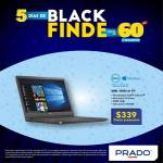 Prado Black finde laptop dell con widows 339 dolares