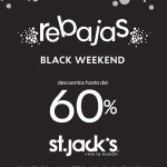 REBAJAS en prendas St jacks el salvador black friday