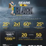 SEARS alarga sus promos y descuento in BLACK 2017