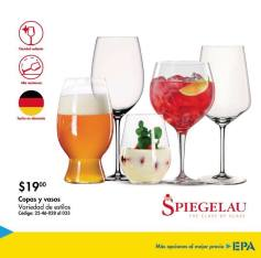 SET de copas y vasos EPA BLACK FRIDAY 2017